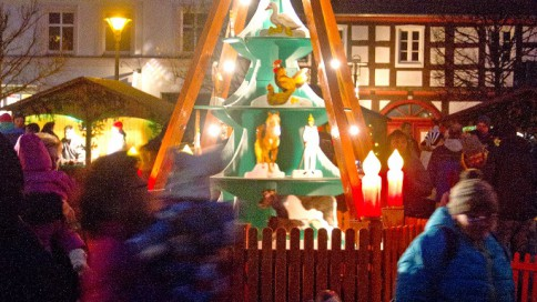 Adventsmarkt in Strasburg (Um.)